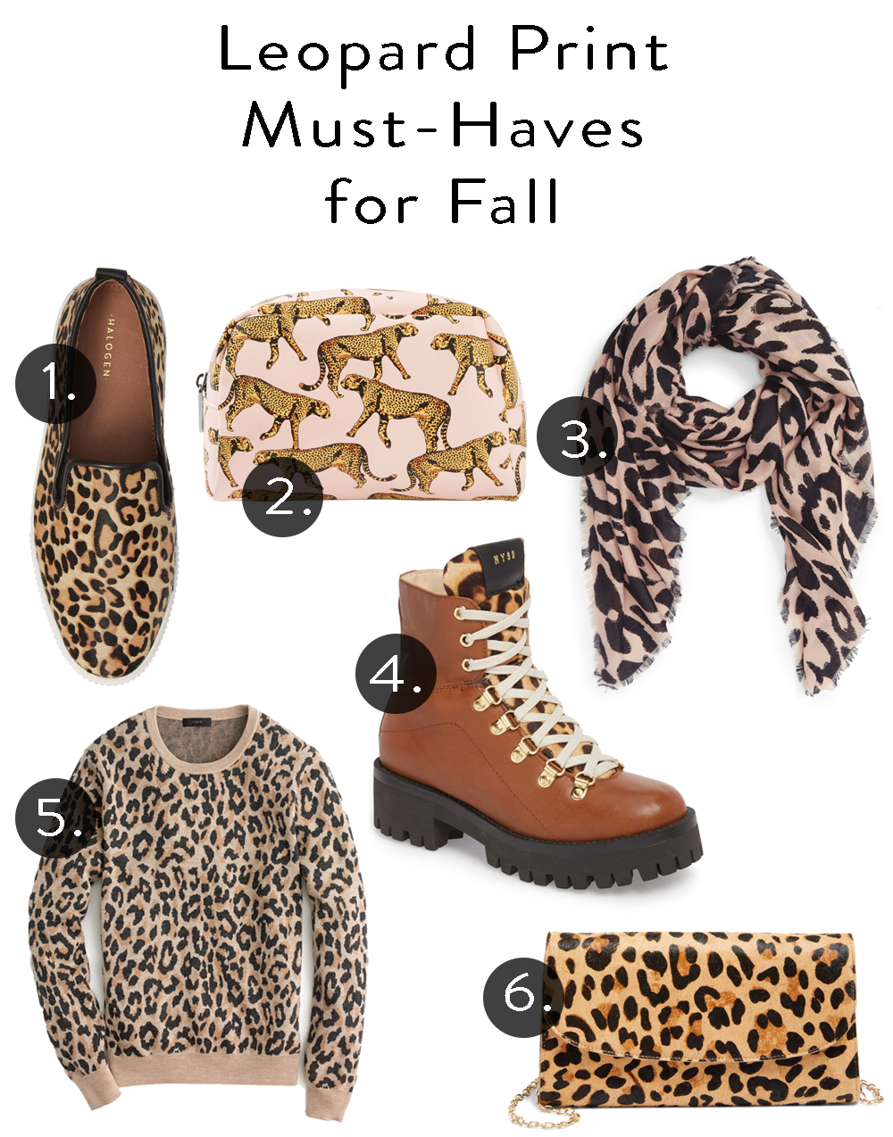Leopard Staples for Fall